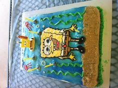 Spongebob Birthday Cake!