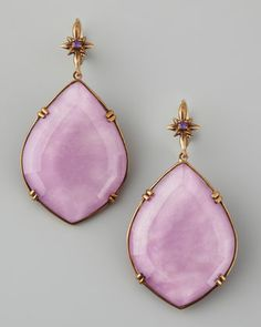 Marquise Drop Earrings, Purple by Stephen Dweck at Neiman Marcus.
