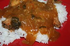 Spicy Italian Slow Cooker Chicken  (Fix-it and Forget-it Big Cookbook recipe) Via Louise V..