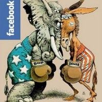 Blog post on political Facebook statuses.  Mom de Plume: And your Facebook Opinion Would be? facebook status, facebook opinion, polit facebook