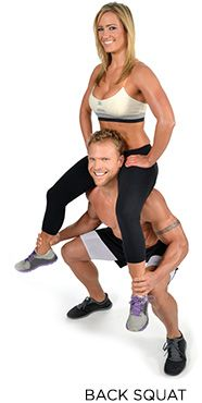 Partner Workout Plans: Building The Perfect Body Together - The Magic Number Two - Bodybuilding.com
