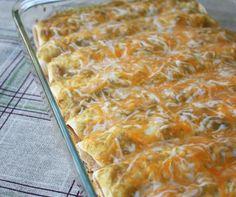 Simply Sour Cream Chicken Enchiladas...one of my favorite recipes!