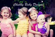 Petti Romper in over 15 colors You Pick the Color by ChubbyBaby
