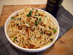 olive oil and garlic pasta sauce
