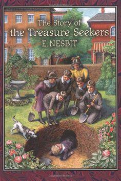 The Story of the Treasure Seekers (Nesbit): E. Nesbit, Peter Glassman: 9780811854153: Amazon.com: Books