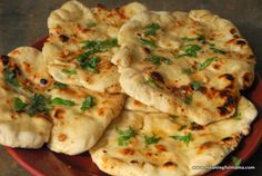 Homemade Naan - noth