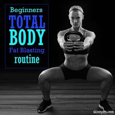 Are you a beginner? Try our Beginner's Total Body Fat Blasting Routine! #totalbody #workout #fatloss #fitness