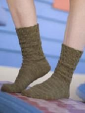 How To Knit Broken Cable Socks