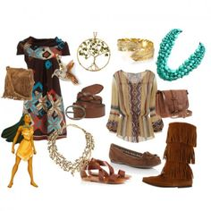 Disney Inspired Fashion: Pocahontas