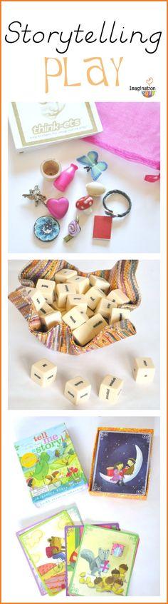 Storytelling play ideas for kids <-- love these ideas!