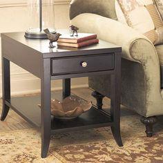 Kieran Black Lamp Table | Arhaus Furniture