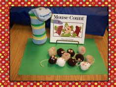 cute additives to counting book mice, preschool book, mouse count activities, count mathshap, mous count, math books, teacher, stori prop, preschool literaci