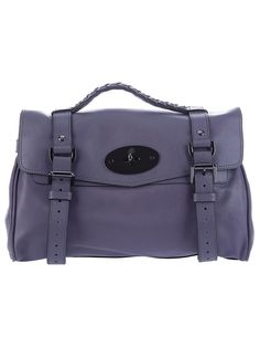 Lush. Midnight Alexa Tote by Mulberry