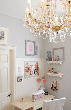 Craft Sewing Room Space