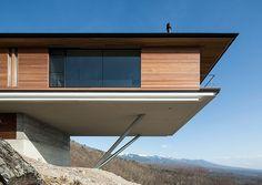 Amazing cantilever by Kidosaki Architects