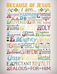 jesus printables, printable bible quotes, because of jesus, fav printabl