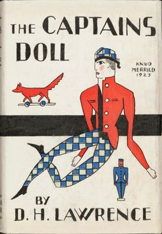 D. H. Lawrence. The Captain's Doll. New York: Thomas Seltzer, 1923. First American edition