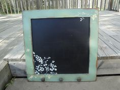 Repurposed Cabinet Door_Love absolutely everything about this!