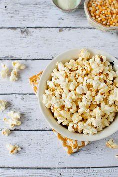 Sweet & Spicy Wasabi Popcorn