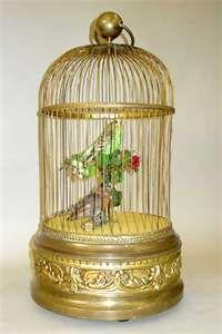 Singing Bird Music Box