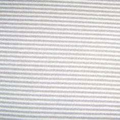 Tissu Jersey Mini rayures grises    1,50 € TTC