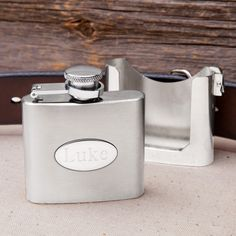 Who doesn't need a flask clipped to their belt buckle?
