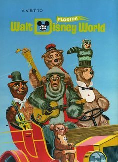 Disney World Ride Posters | Walt Disney World Ride Posters