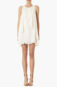 Topshop Waterfall Trapeze Dress available at #Nordstrom