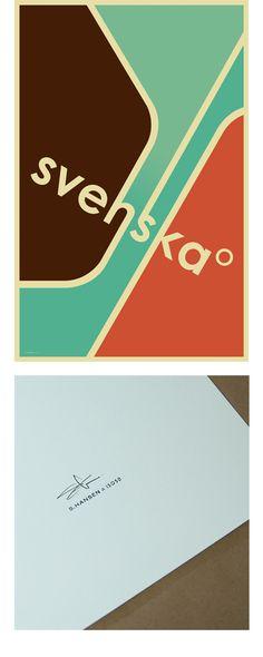 vintage posters, color schemes, color combos, color pallets, art, svenska, print, design