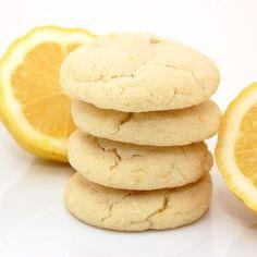 Lemon Sugar Cookies ... im game for anything lemon!
