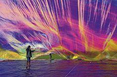 toma saraceno, poetic cosmos, balloon build, instal, rainbows, art 101, beauty, saraceno poetic, breath