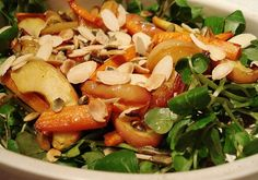 Roasted Apple and Carrot Salad GF SCD