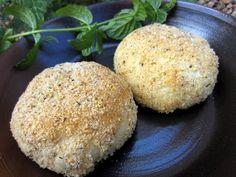 Savory cream cheese chicken puffs.