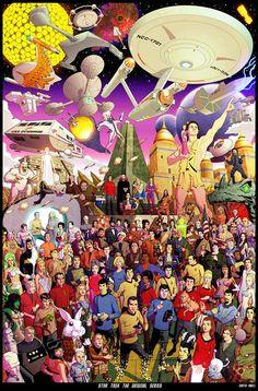 geek, bold, origin seri, stuff, stars, scifi, startrek, posters, star trek
