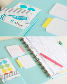 Printable 52 week Planner with Meal Planning 2013-2014 INSTANT DOWNLOAD - pretty planner to purchase