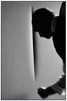Lucio Fontana Ugo Mulas ¦ Milano, 1964