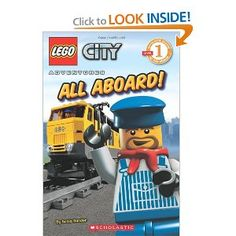 LEGO CITY- fun to build and read
