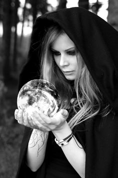 Gaze into the witch's ball...