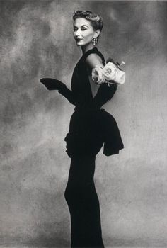 Lisa Fonssagrives-Penn by Irving Penn rose, model, pari, dresses, irvingpenn, irving penn, irv penn, fashion photography, retro vintage
