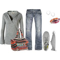 Summer Bonfire, created by mmessenger on Polyvore
