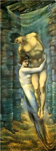 The Depths Of The Sea - Edward Burne-Jones