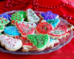 No-Chill Cutout Sugar Cookies, here in Christmas cookies.
