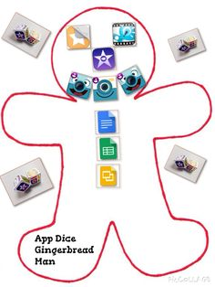 TOUCH this image: Tell a story about Gingerbread using App Dice @thinglink by Ryan Read