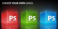 step-by-step logo design.