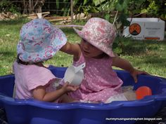 How to conquer a playgroup with twins!