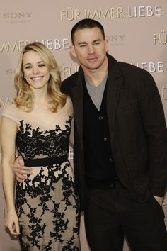 Rachel McAdams and Channing Tatum: The Vow in Germany