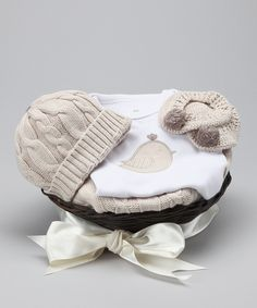 gender neutral baby clothes - Feathering the Nest Gift Set