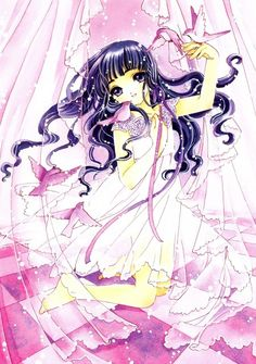 "Art from ""Card Captor Sakura"" series by manga artist group CLAMP."