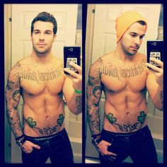 Such a perfect guy :))) HOT INK!