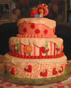 cute cake for girl birthday